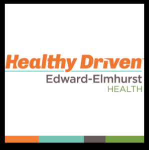 Square Graphic of Healthy Driven Edward-Elmhurst Health Logo